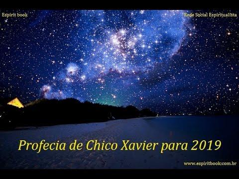 Vídeo explicativo: Profecia de Chico Xavier para 2019 (com música e imagens de céu estrelado)