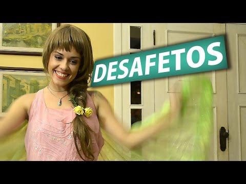 """VÍDEO-ESPIRITUALIDADE com BOM HUMOR: Tema DESAFETOS """""""