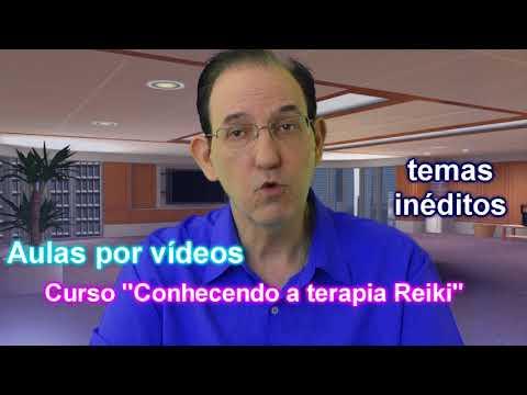 CONVITE Curso Conhecendo a terapia Reiki por videoaulas com Moacir Sader