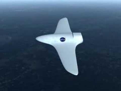 NASA morphing aircraft
