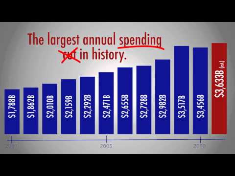 Obamas Phony Spending Cuts