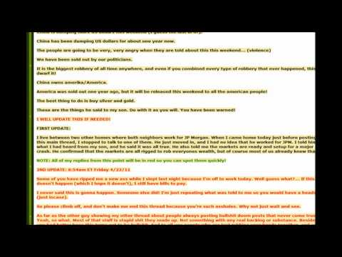 China's US Bonds & US Debt has ALL Been Sold Off??  Economy About to Collapse? Daily Doom 016