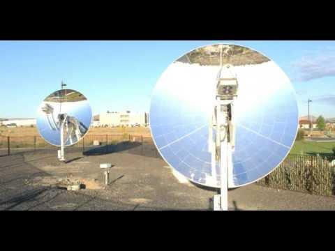 Infinia Stirling Solar Generator