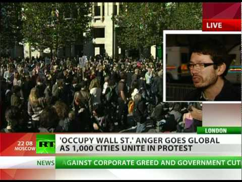 Global Occupation: 1,000 cities unite in 'Wall St' anger worldwide
