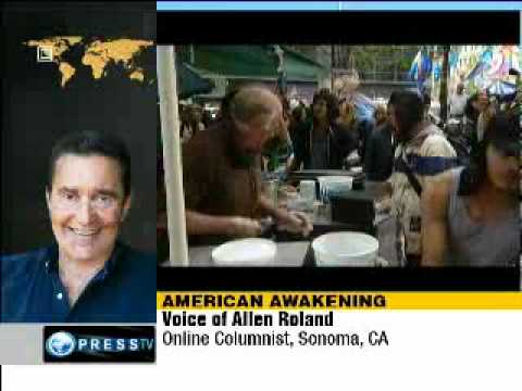 'Occupy Wall Street will soon turn into a tsunami'.....#Occupytogether