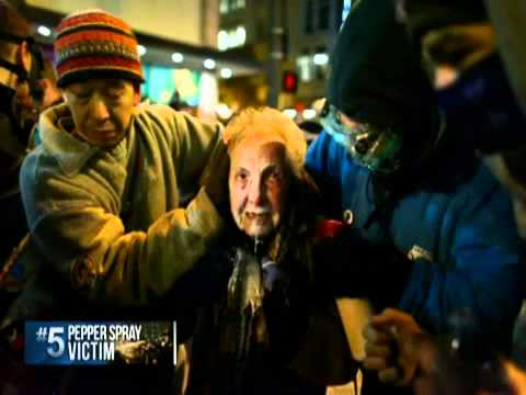 Occupy Seattle: 84-year-old pepper spray victim speaks out