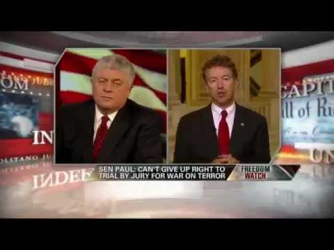 FEDERAL TERROR TACTICS : Rand Paul : Judge Napolitano