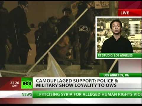 US war vet gets arrested at Occupy LA