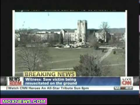 Student On The Scene At Virginia Tech Shooting