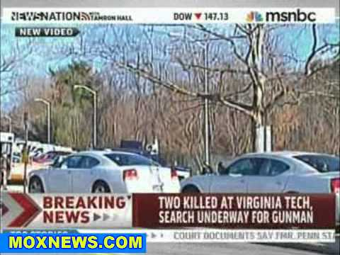 Video From The Scene Of Virginia Tech Shooting