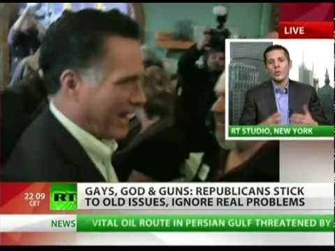 GOP debate: guns, gays and God vs real issues