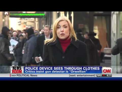 POLICE STATE - New Orwellian Police Device To Look Through Your Clothes