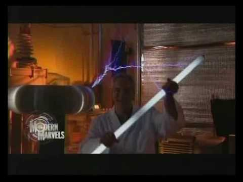 Nikola Tesla - Mad Electricity part 1 of 5