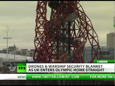 Missiles & warships in London: UK gears up for Olympics or war?