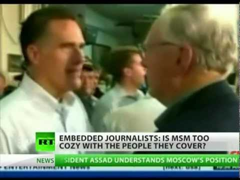 Embedded Journalists in War and Politics
