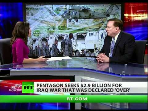 War is over but Pentagon wants billions for Iraq