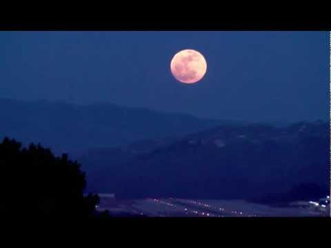 Supermoon over Monterey, May 5, 2012
