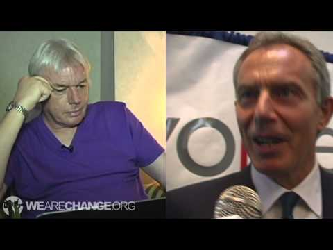 David Icke Reacts to Tony Blair Confrontation