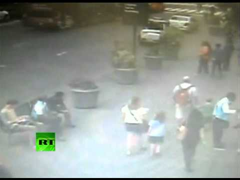 CCTV: Police confront Empire State Building shooter