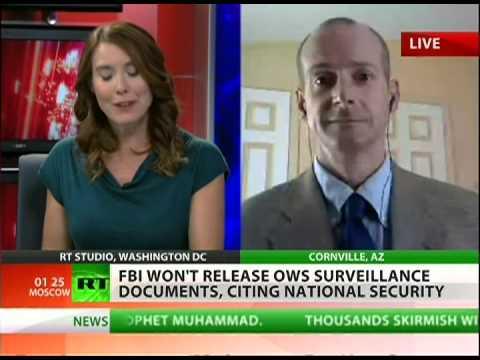 Occupy not safe from FBI surveillance
