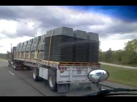 Freemason Semi-Truck Hauling FEMA Coffins? in Wisconsin Sept. 2012