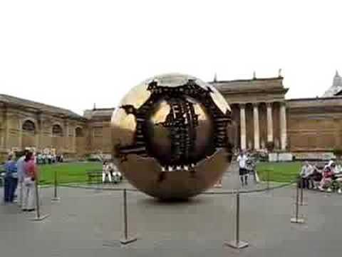 Vaticans Planet X Globe