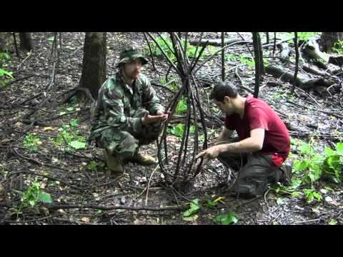 Survival Fishing- The Ultimate Primitive Basket Fish Trap