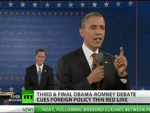Obama-Romney 'robust America' rhetoric ahead foreign policy debate