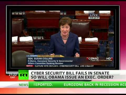 Cybersecurity Act fails in the Senate: Will Obama move it forward?