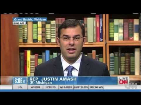 Congressman Justin Amash Fights Back Against Corrupt Establishment Media On CNN
