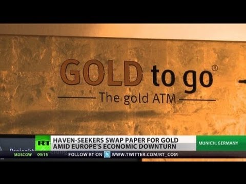 Paper Money Kaput? Gold rush on rise as Europe crisis deepens