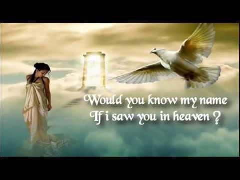 Eric Clapton - TEARS IN HEAVEN - Lyrics Video