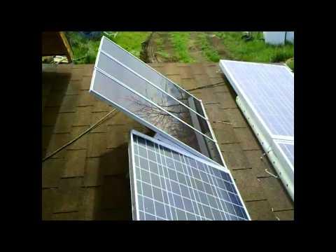 Off Grid Solar and Wind Installation Part Three