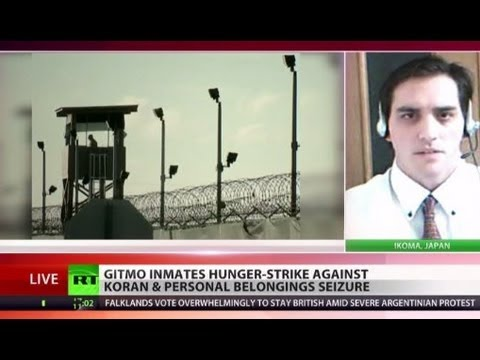 Gitmo inmates on hunger strike over seizure of Korans, personal belongings
