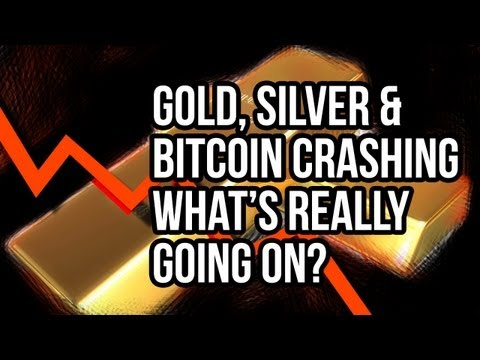 Gold & Bitcoin Crash What's Really Going On