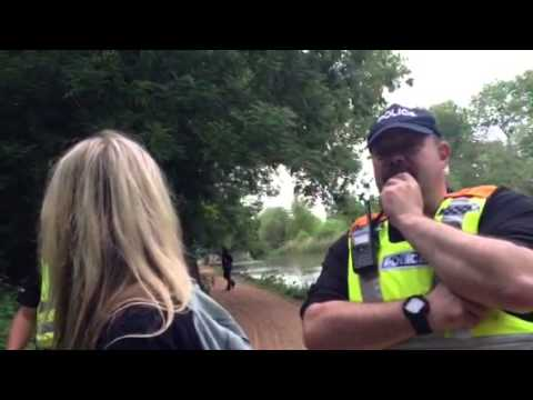 Police Intimidation after Bilderberg Boat Ride