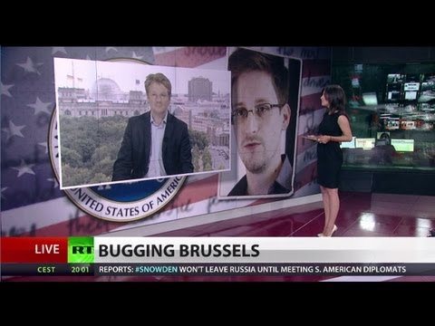 Bugging Brussels: New Snowden leak claims NSA spies on EU diplomats