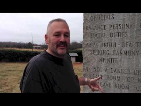 Georgia Guidestones (The 10 Commandments?)