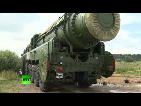 ROAD TO WW3 - Russia Show Off Topol M Ballistic Missile