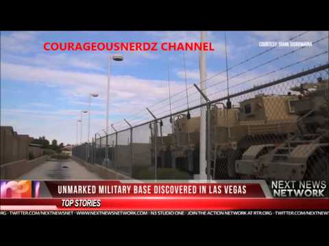 Fake Car dealership turns into a Military Base in Las Vegas