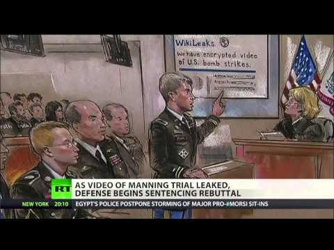 Australian activist publishes secret Manning trial video