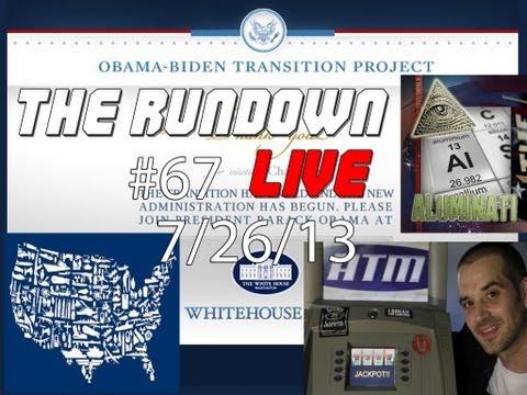 The Rundown Live #67 Hacker 'Dies', Obama 'Transparency', Aluminati, Military Industrial Complex