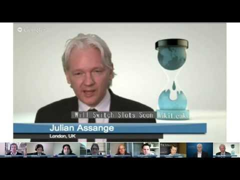 Election Hangout with Julian Assange