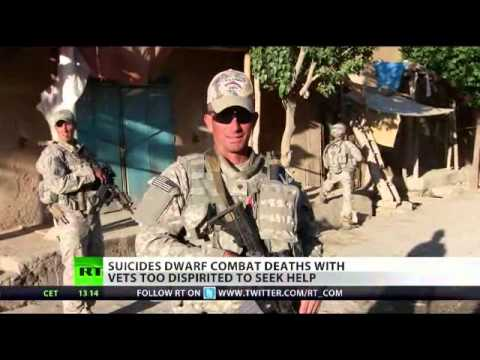 18 U.S. Veterans Commit Suicide Every Day; Largely Due To Psychiatric Drugs