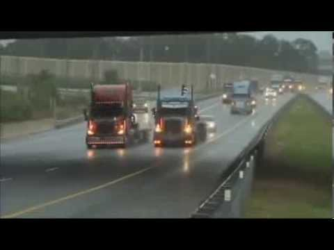 1 Million Truck March, Front Of The Pack Footage