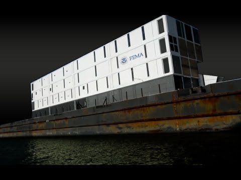 11/25/2013 - FLOATING FEMA PRISONS - NEW TSA DETENTION PODS - SPY DRONES & MARTIAL LAW IN 2014