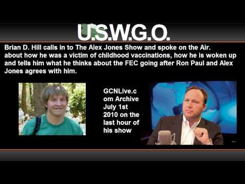 Brian Hill Live on The Alex Jones Show July 1 2010