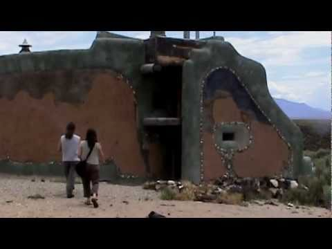 Michael Reynolds Interview Part 1 & Earthship Tours