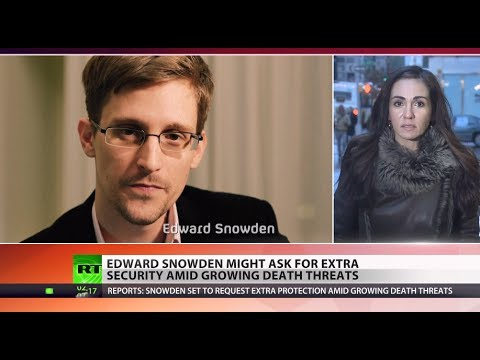Snowden requests extra security after receiving death threats