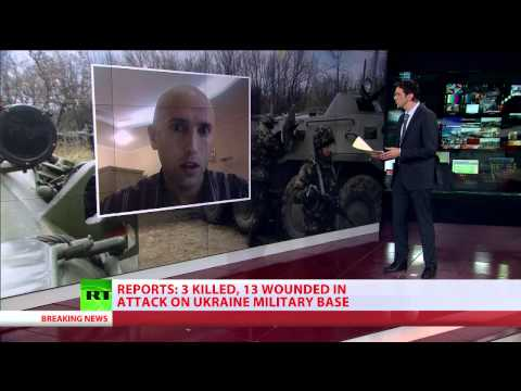 3 dead, 13 wounded in attack on Ukraine military base - Interior Ministry